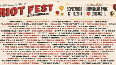 Photo of 2014 Riot Fest Lineup Announced