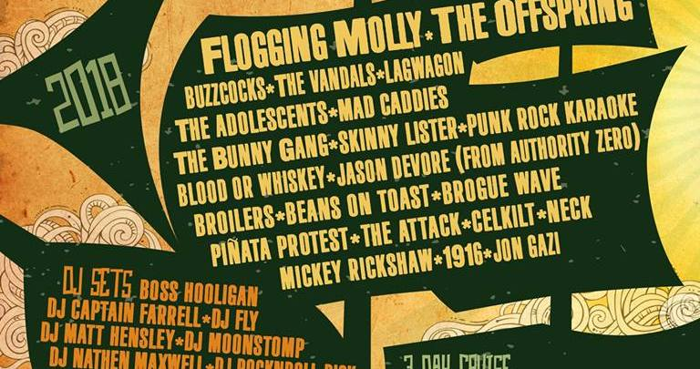 Flogging Molly Cruise