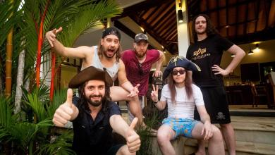 Photo of Alestorm Recording New Album