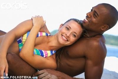Crnac i bela zena