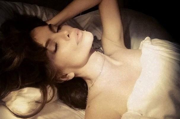 severina u krevetu