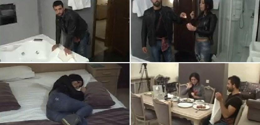stanija i milos u hotelu