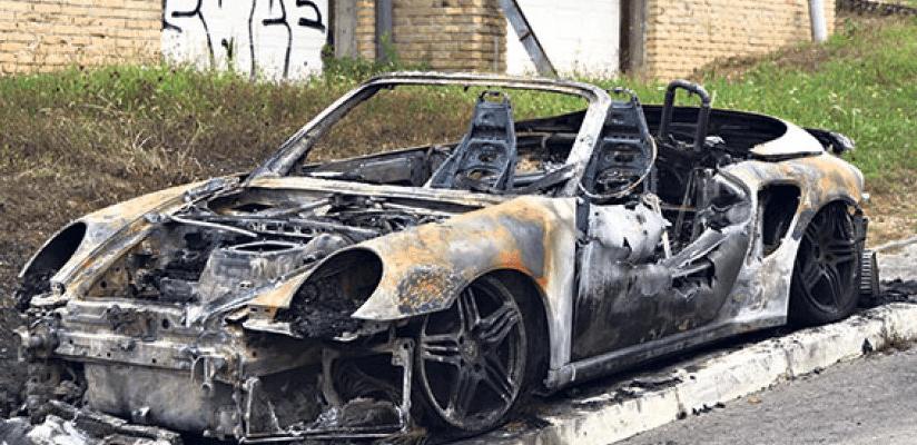 zapaljen auto tamare djuric