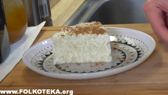 kolac od pirinca narkonia recepti