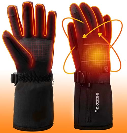 PAXCESS Heated Gloves review
