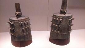 "Set of ""Chang Si"" Bronze Zhong percussion instruments"