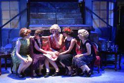Stasi (Emma Sorenson) and the girls (Clare Lillig, Laura Martino, Alexandre Kassouf and Athena Kopulos)