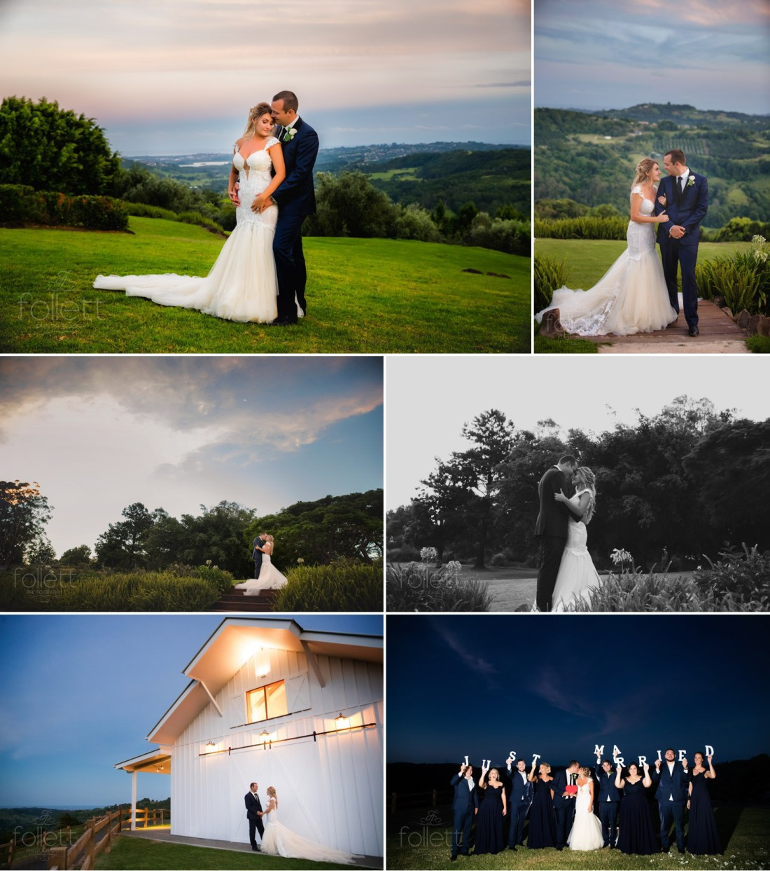 Sunset Photo at Summergrove Estate by Follett Photography