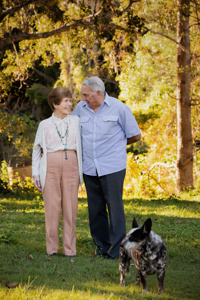 Grandparents Portrait Ormeau