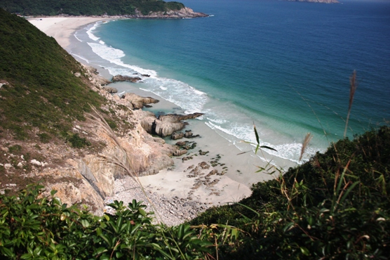 美麗的沙灘