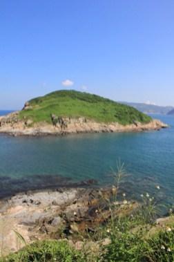 海岸的風景也很吸引