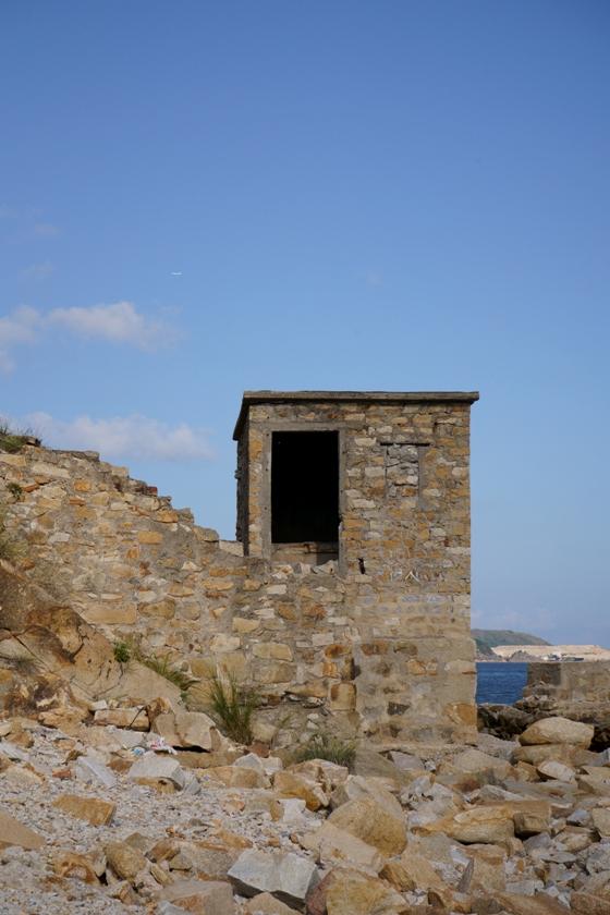 礦場遺址的建築