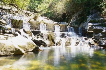 屏南石澗的小水堤