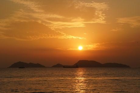 龍鼓灘看日落