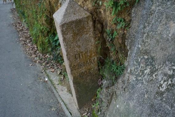 維多利亞城界石 (克頓道)