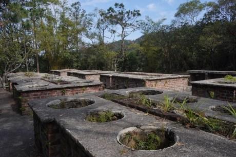 經過戰時爐灶遺址