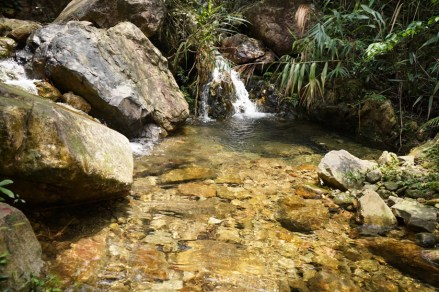 初段的小瀑潭