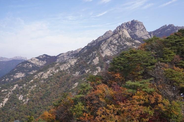 北漢山最高山峰白雲台