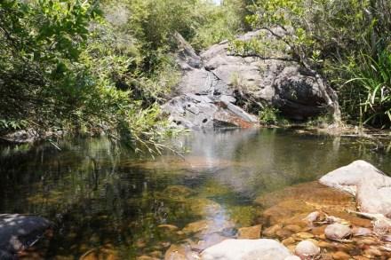 黃竹涌的溪澗
