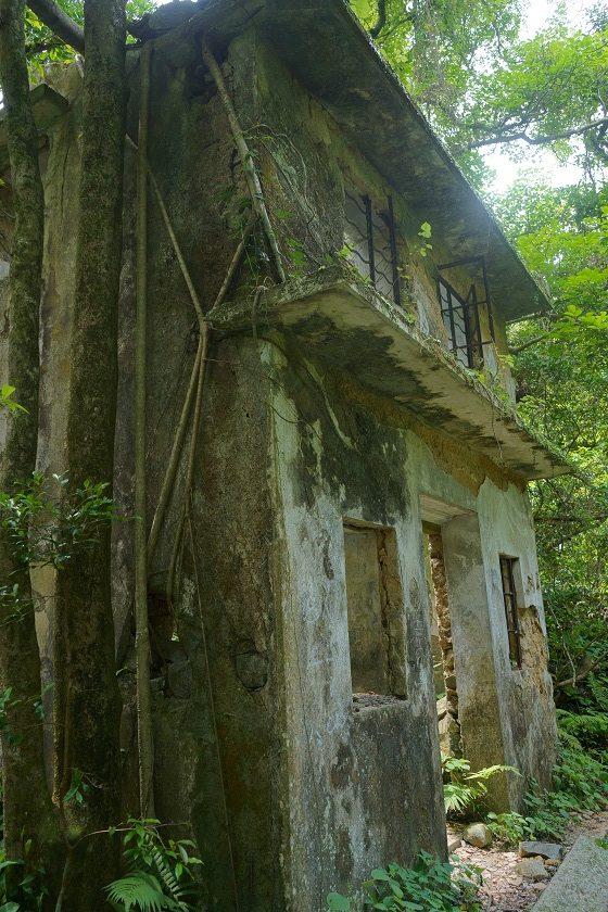 茅坪村的荒廢村屋