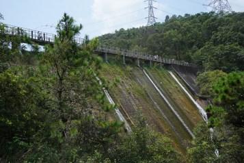 藍地水塘的水壩