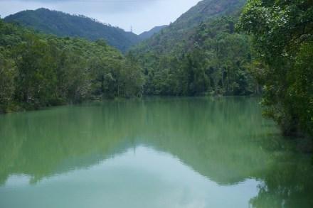 平靜的水面