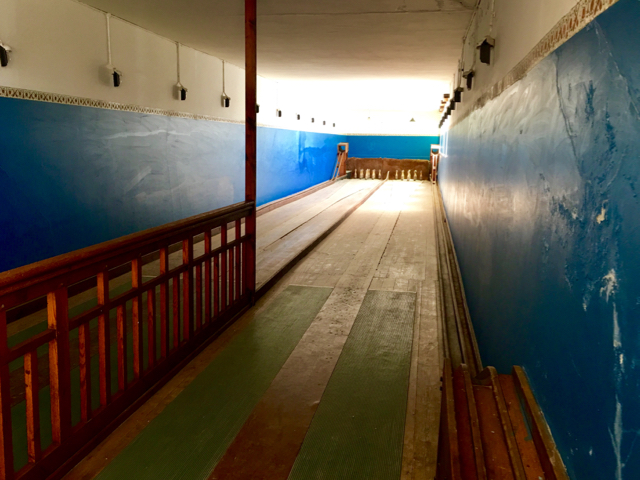 Bowling Alley at Kolmanskop, A Ghost Town near Luderitz, Namibia