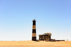 The old Lighhouse near Walvis Bay