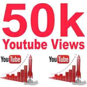 50k Youtube views