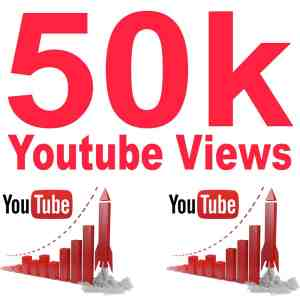 50k Youtube views