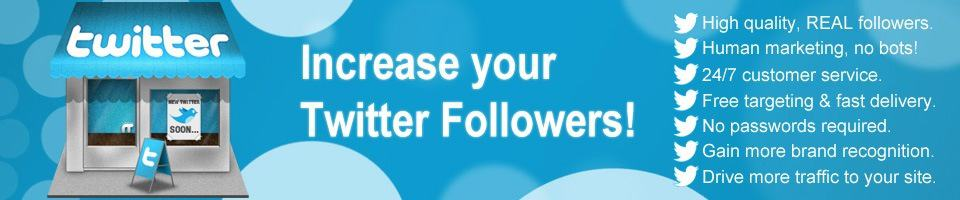 Buy twitter followers TW
