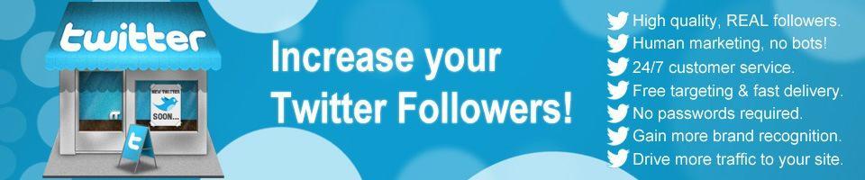 Buy twitter followers TW