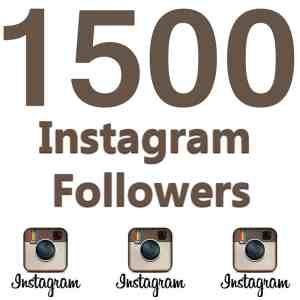 buy instagram followers 1500