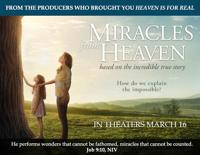 Mother shares story of daughter's miracle in 'Miracles From Heaven'