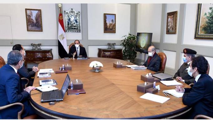 أحد اجتماعات الرئيس السيسي لمتابعة مشروعات الاتصالات والتكنولوجيا