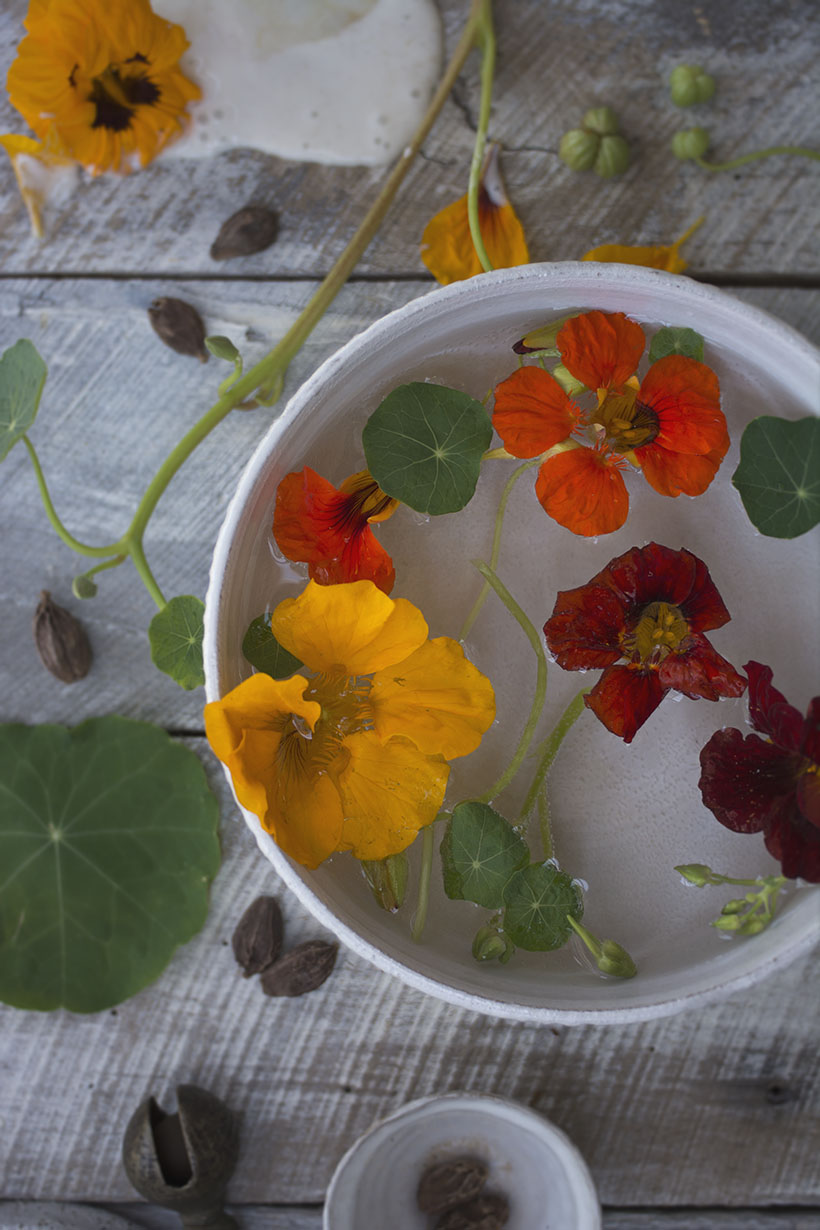 Floating Nasturtiums