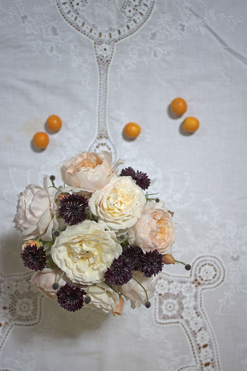 Roses Table Cloth copy