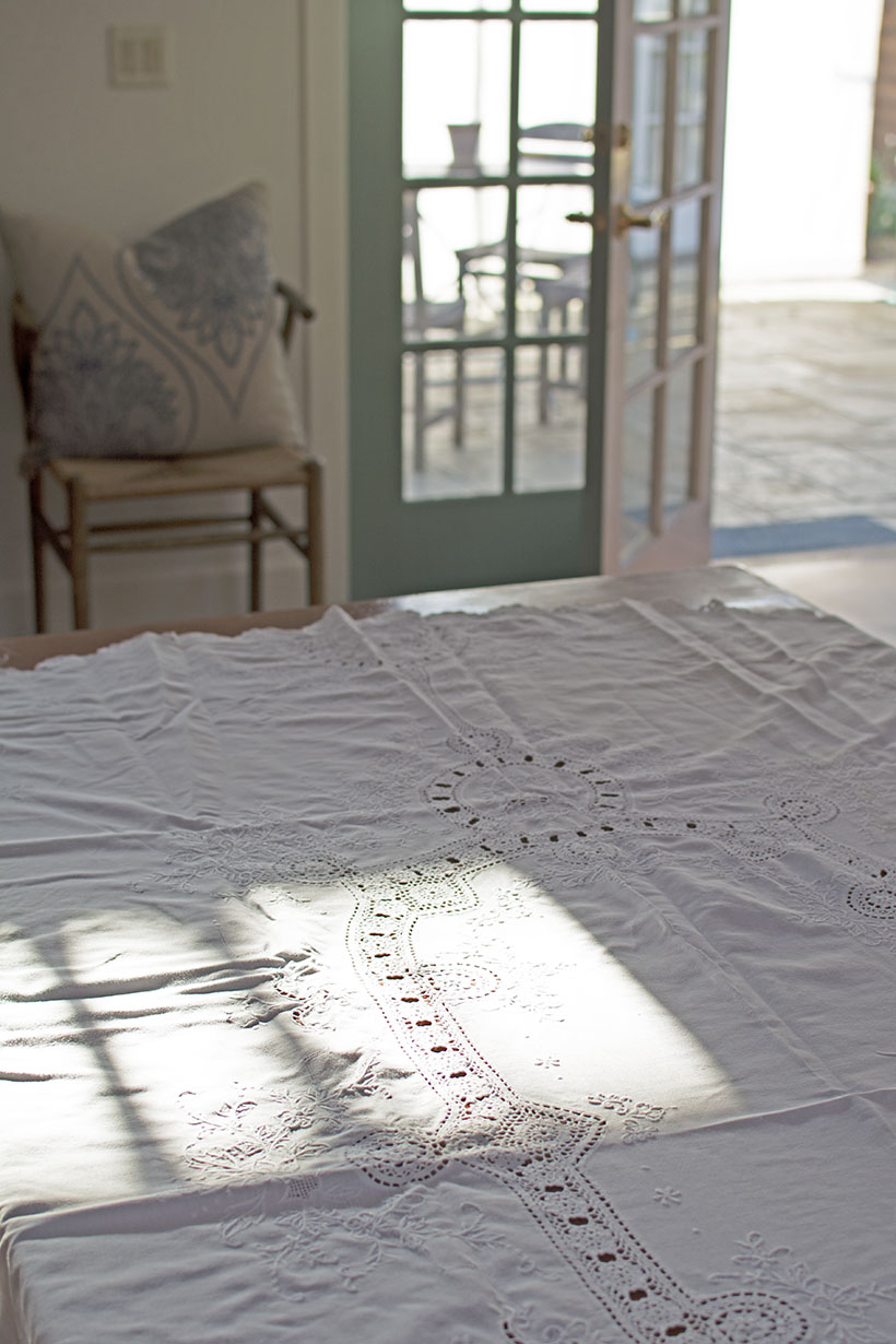 Tablecloth Wrinkles