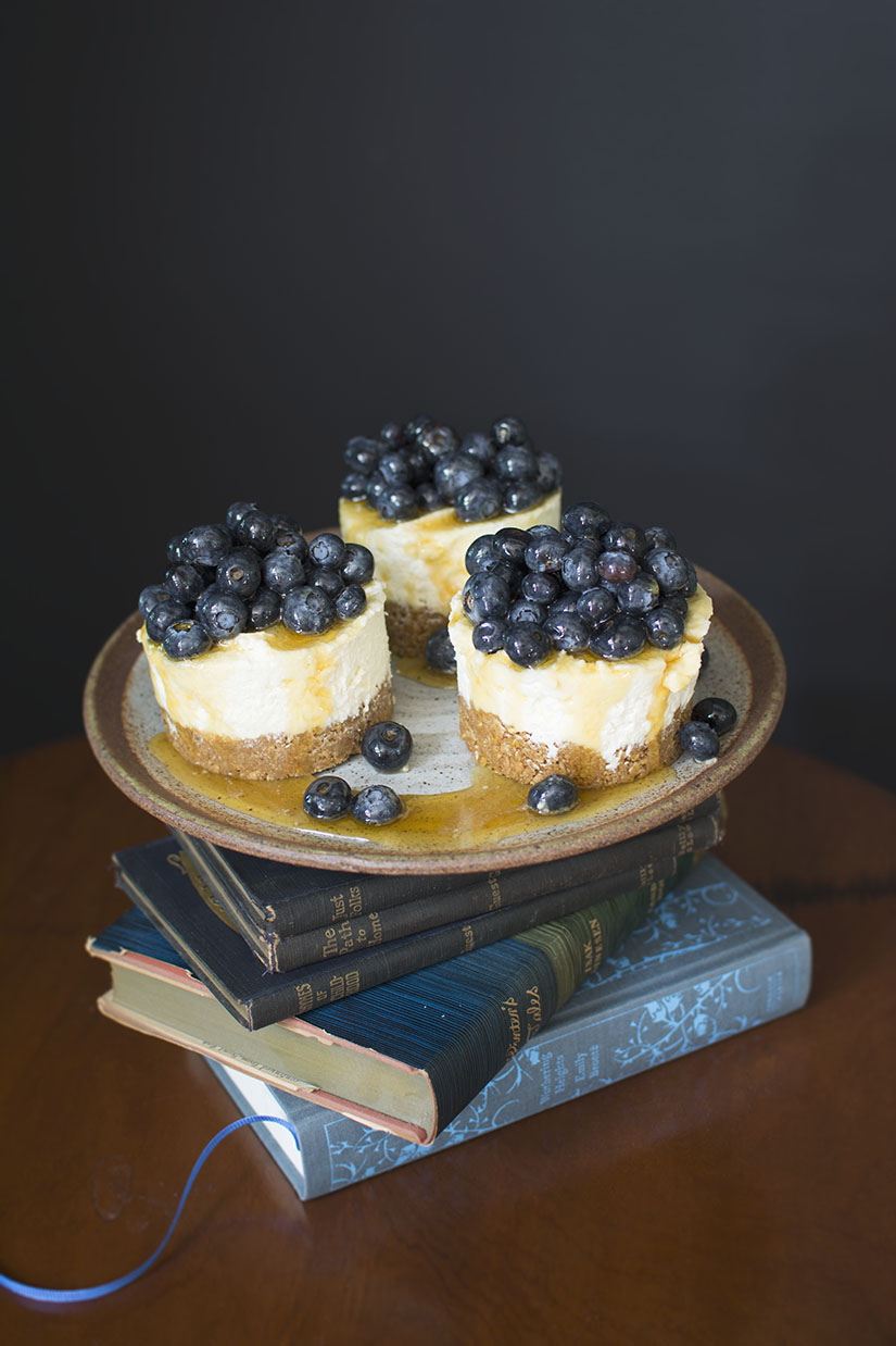 3 Mini-Cheesecakes