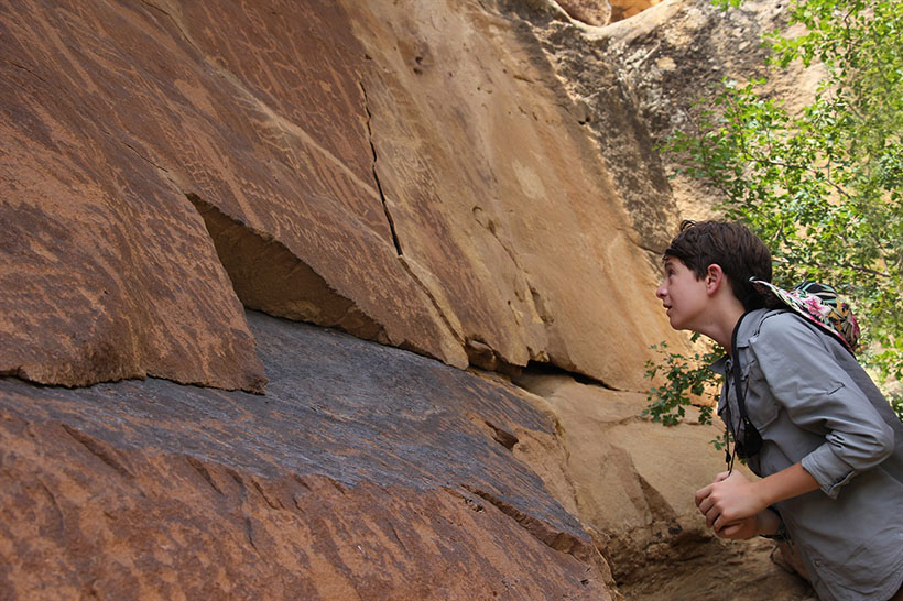 Ben & Petroglyphs