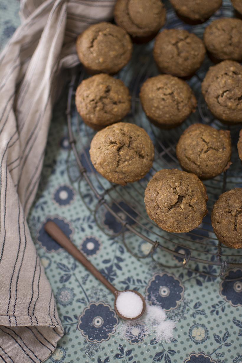 Sweet Potato Muffins Overhead