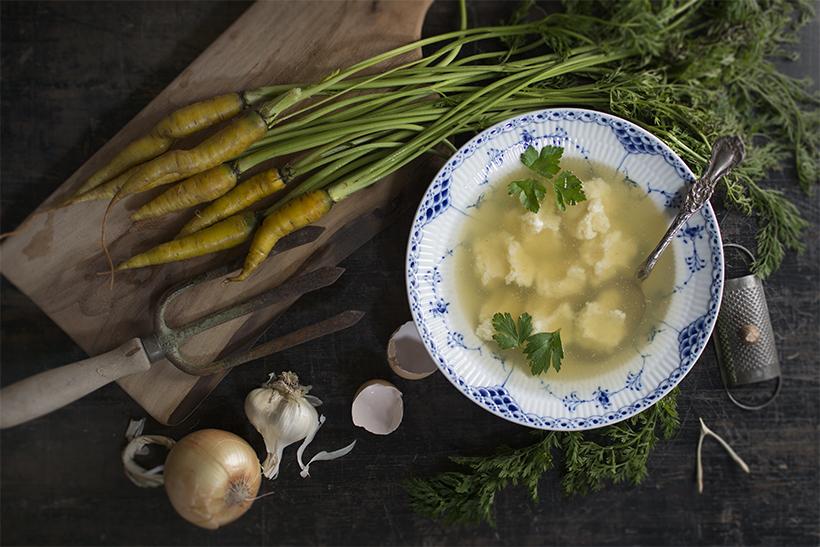 Dumpling Soup Horizontal