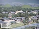 Rekonstruktion von Gyeongju vor 1.300 Jahren