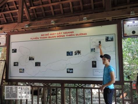 Wir besichtigten den ersten Kilometer der 31 Kilometer langen Höhle