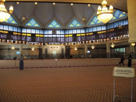 Nur für Muslime: der Gebetsraum