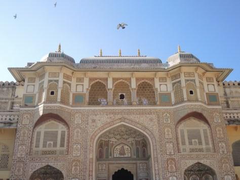 Haupteingang zum Maharadscha Palast