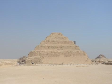 Die Djoser Pyramide - eines der ältesten Bauwerke unseres Planeten