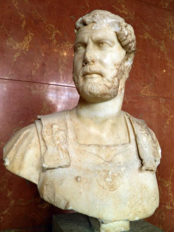 Hadrian, from Heraklion (Crete), Musée du Louvre