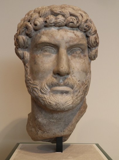 Marble head of Hadrian, Romisch-Germanisches Museum, Cologne