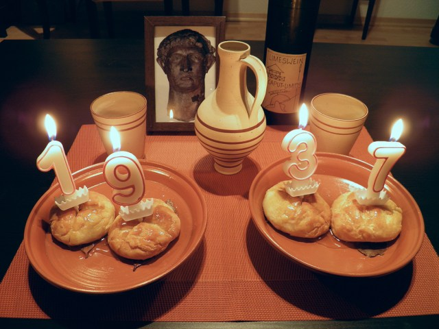 Dies Natalis Divi Hadriani Augusti! (24 January 2013)
